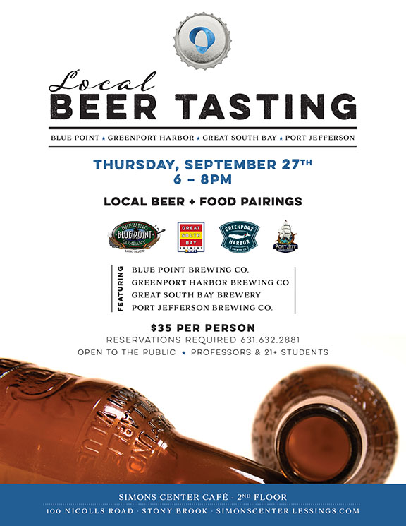 Learn more about our beer testing event